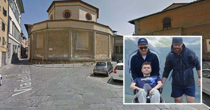 disabile morto a Firenze